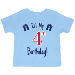 It's My 4th Birthday
