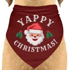 A Yappy Christmas Dog