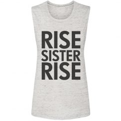 Sisters Rise Together Feminist Tank