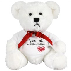 Custom Cute Teddy Bear Gift