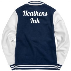 Heathens Ink letter jacket