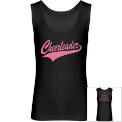 Black Pink Cheerleader Tank