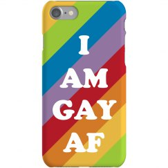 Rainbow I Am Super Gay AF