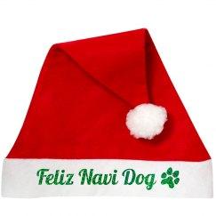 Feliz Navi Dog Santa Accessory