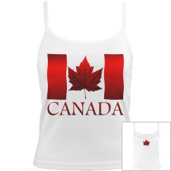 Canada Flag Camisole Women's Shirt