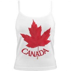 Canada Maple Leaf Camisole Tops