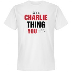 It's a Charlie thing