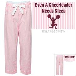 Cheerleaders need sleep