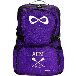 Custom Initials Lax Backpack