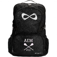 Custom Initials Lax Backpack