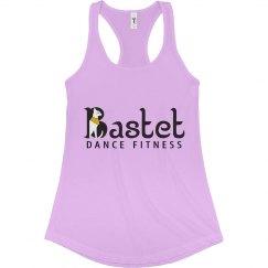 Bastet Dance Fitness Logo Flowy Tank