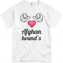 Afghan hounds