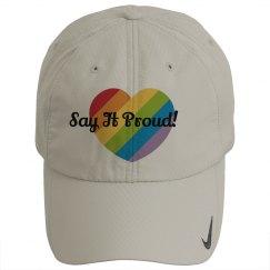 Say It Proud Hat / Heart