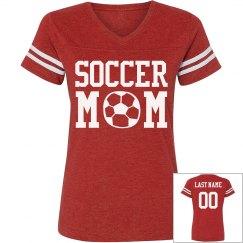 Loud & Proud Soccer Custom Mom