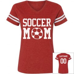 Loud & Proud Soccer Custom Mom