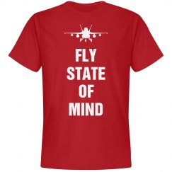 Fly state of mind shirt