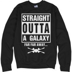 Straight Outta A Galaxy