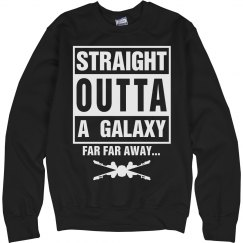 Straight Outta A Galaxy