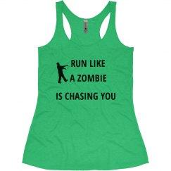 Womens zombie tee