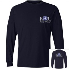 Navy Unisex Fashion Long Sleeve