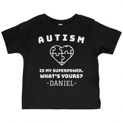 Kids Custom  Autism Tee