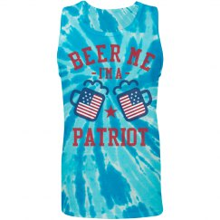 Plus Size July Fourth Beer Tanks