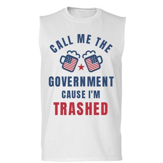 90c0a86278 Funny Political July 4th Shirt Unisex Basic Promo Sleeveless T-Shirt