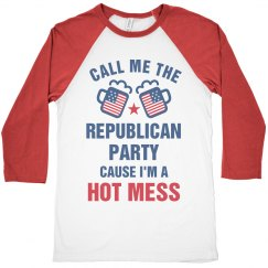Hot Mess Funny Anti-Republican