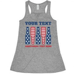 Custom Text July Fourth Drinking