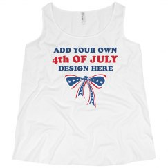 Custom 4th of July Tank