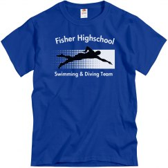 Fisher Swimming Team