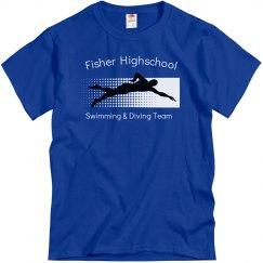 Fisher Swimming Team