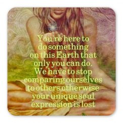 You're here to do something on Earth