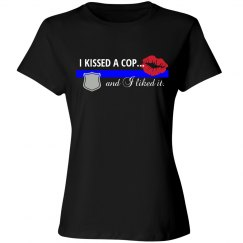 I Kissed A Cop Tee