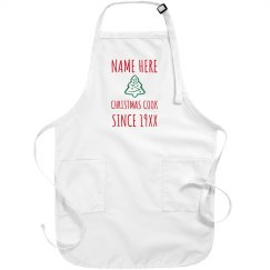 Custom Christmas Cook Apron