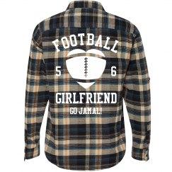 Football Girl Flannel