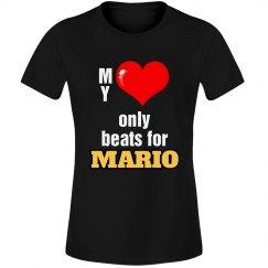 Heart beats for Mario
