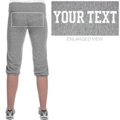 Personalized Crop Sweatpants