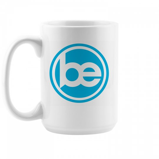 15 ounce BE coffee mug