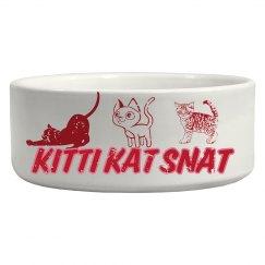KITTI KAT SNAT CAT BOWL