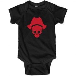 Cross Bones Baby Onsie