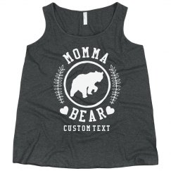 Custom Momma Bear Plus Tank