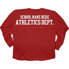 Custom Athletics Dept.