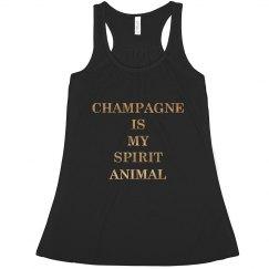 Champagne Spirit Animal