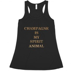 Champagne Spirit Animal
