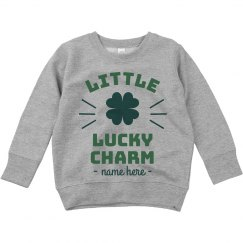 Little Lucky Charm Custom Toddler Tee