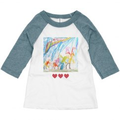 Upload Your Kid's Art for them to Wear