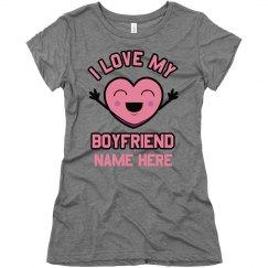 I Love My Boyfriend Heart