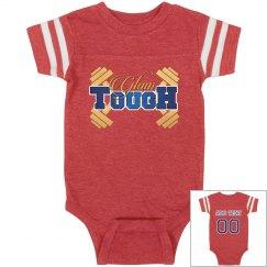 GlamTough Infant Vintage Sports Baby Onesie