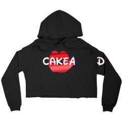 Cake'd Crop Hoodie